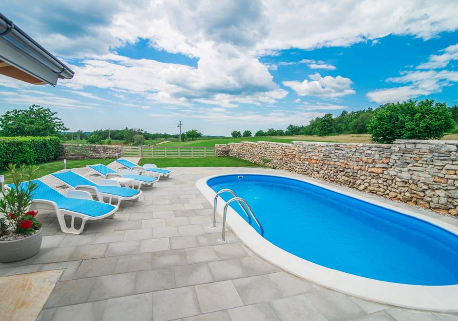 Holiday House Glavica  with Private Pool