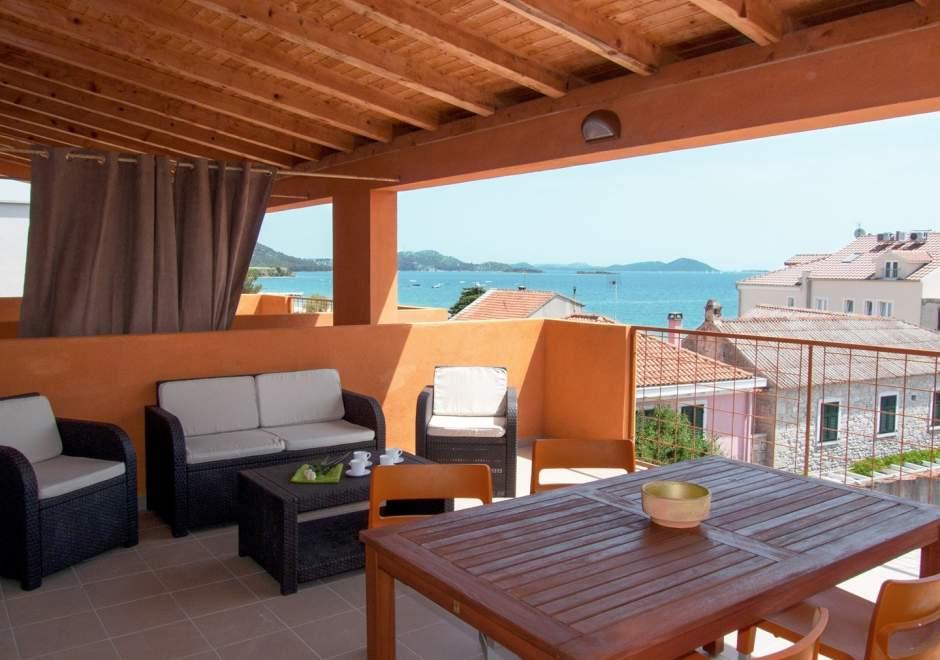 Ferienwohnung A5 Sime in der Villa Vulin - Pakostane