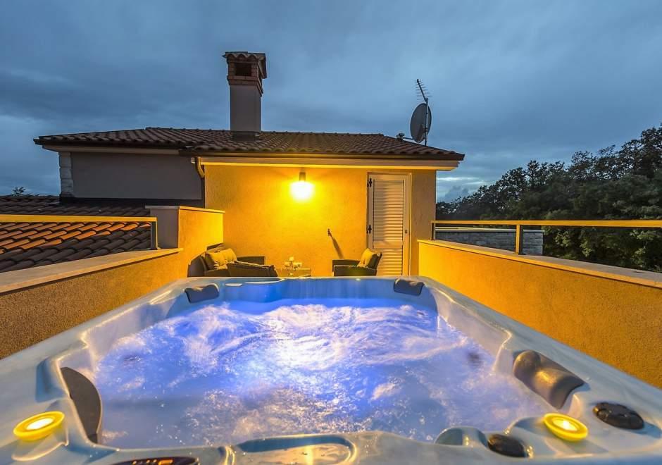 Villa Marten mit Eingezäunten Garten und Eigenem Infinity-Pool