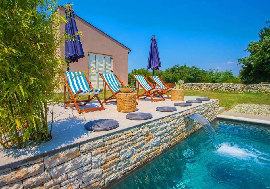 Villa Marten with Fenced Garden and Private Infinity Pool