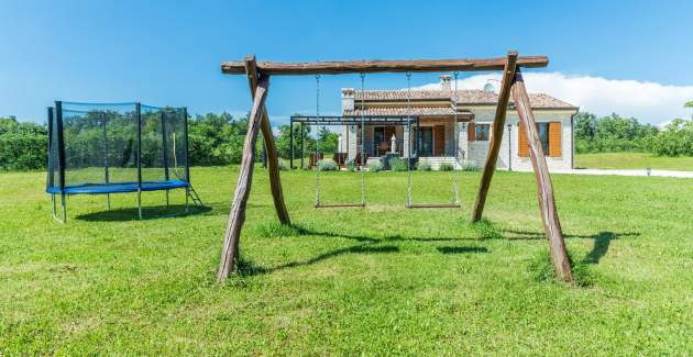 Villa Elida with Pool in a isolated location - Central Istria