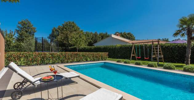 Villa Lana with private pool near Labin