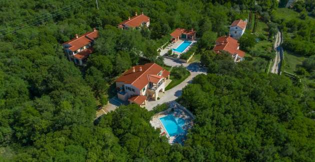 Villa Marina Vlakovo with Shared Pool