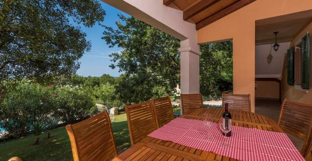 Villa Biljana with shared pool in Resort Vlakovo