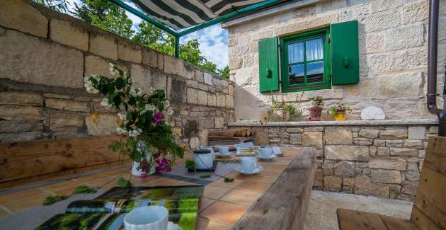 Beautiful stone house Villa Verde - Posedarje