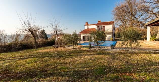 Villa Alvona near Labin