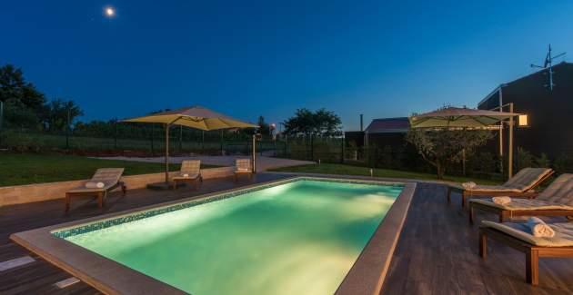 Luxury Villa Caelli with private poll near Pula