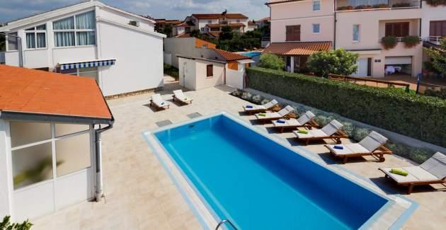 Villa Irena with Private Pool in Porec