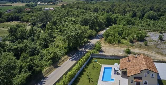 Villa Giovanna Fuskulin con Piscina