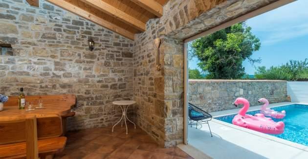 Casa Mare Monti Livade with private pool
