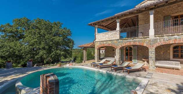 Villa with Private Pool in Paradise - Barat