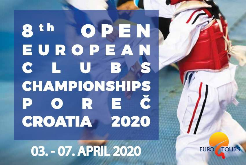 8th Open European Clubs Championships Poreč Croatia 2020