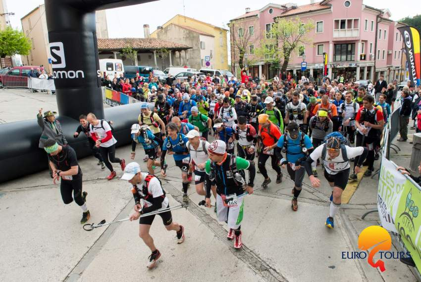 100 miles of Istria: Red course