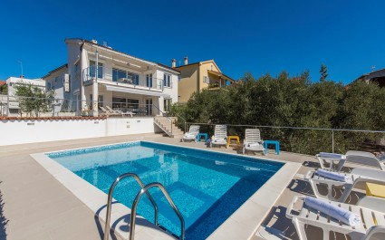 Villa Ira with Sea View on the Island Krk