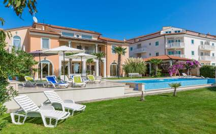 Ferienwohnung Fiorido Green B4 in Villa Vizula