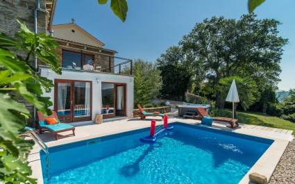 Modern and Comfortable Villa Sussini  with Fantastic View