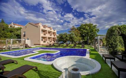 One bedroom apartment B1/ Villa Subic Kampor - Island of Rab