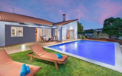 Modern Villa di Rovigno with Pool and Garden