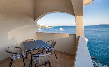 Ferienwohnung A1 mit zwei Schlafzimmern in der Villa Majana - Insel Ciovo