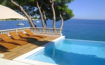 Villa Paula directly on the sea - Island of Ciovo
