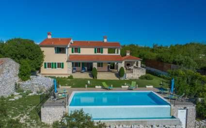 Villa Albina mit wunderschöne Meerblick