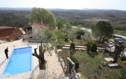 Stancija Ulrichi with Private Pool and Garden