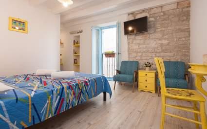 Dvokrevetna soba S1 s bračnim krevetom u La casa Barbaro - Rovinj