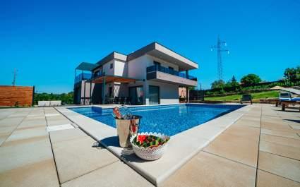 Elegant villa Viktoria with private pool near Imotski