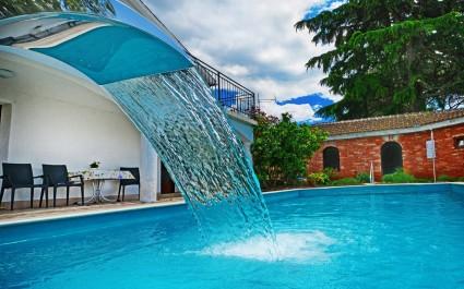 Villa Lanima s privatnim bazenom i pogledom na more