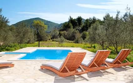 Villa Mariela mit beheiztem Pool in Korčula