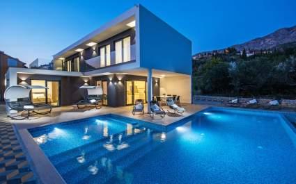Villa Luce di lusso con campo da tennis vicino a Dubrovnik