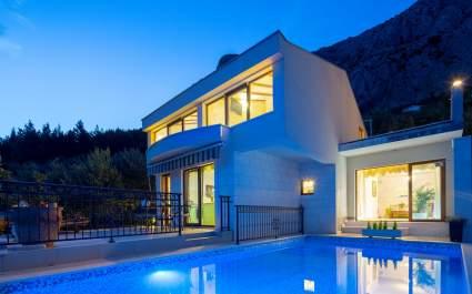 Villa Amare mit privatem Pool in Makarska