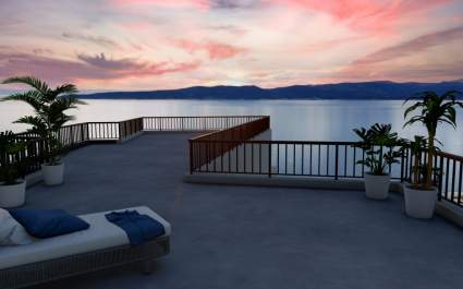 Luxusvilla Brela mit beheiztem Pool