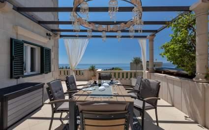 Villa Vesna mit privatem Pool in Makarska