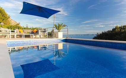 Villa Levanda with private pool in Makarska
