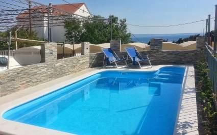 Villa Pietra Podstrana sa privatnim bazenom
