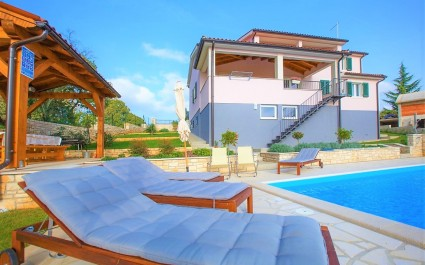 Modern Villa Vesna with Private Pool and Garden