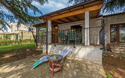 Pet Friendly Apartment Materada 2 located on a fenced plot