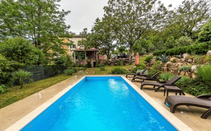 Villa Katarina and Luka with Beautiful Garden and Pool