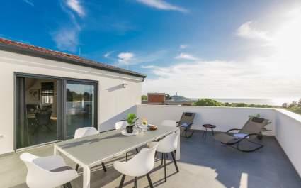 Penthouse Apartment Sun mit Meerblick in Rovinj - Residence Galant