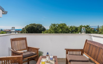 Apartment Ana with Roof Terrace - Sea View