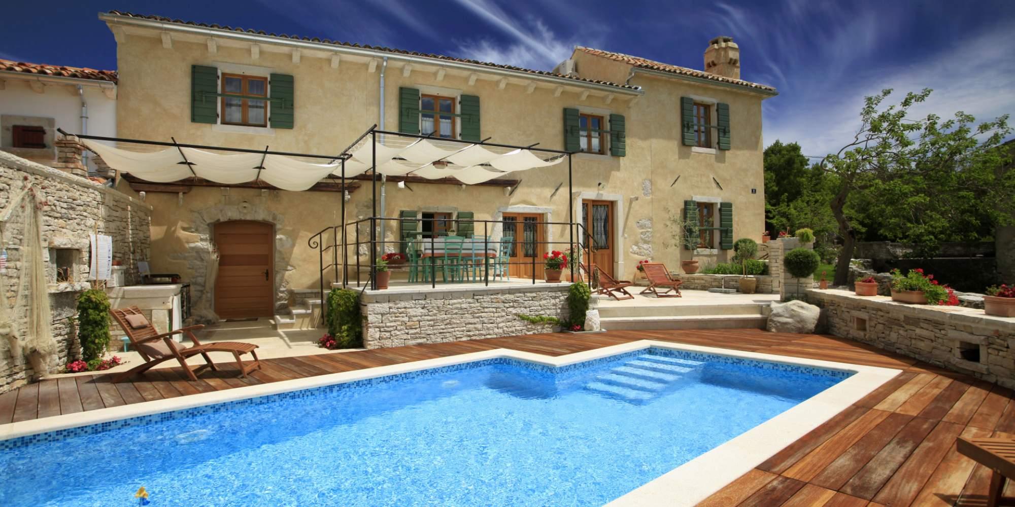 Villa Gelci mit beheiztem Pool